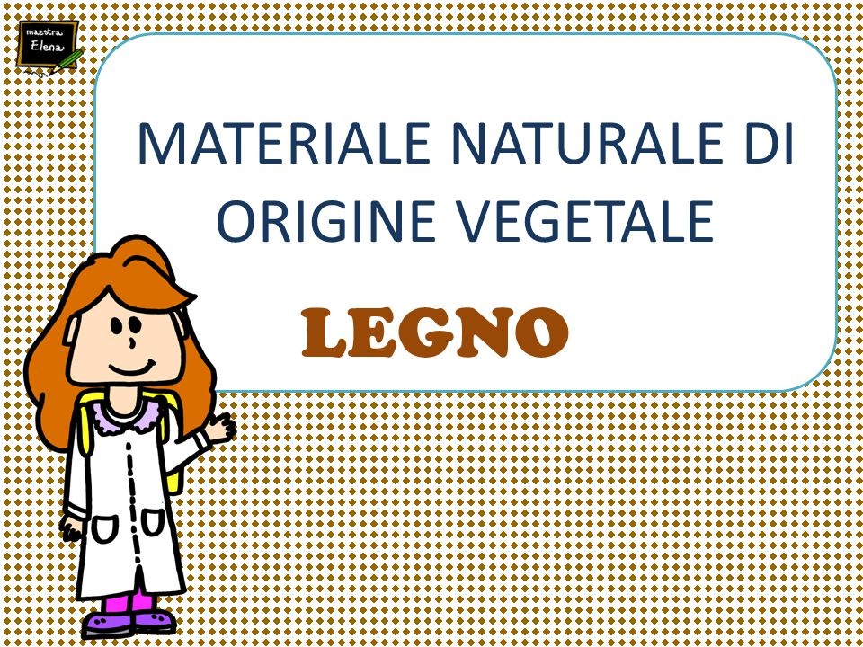 MATERIALE NATURALE DI ORIGINE VEGETALE