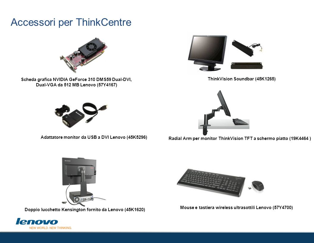 Accessori per ThinkCentre