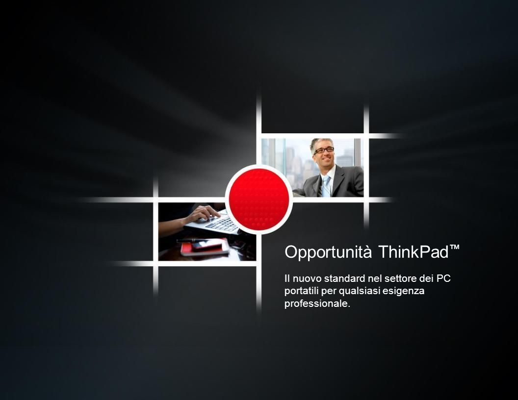 Opportunità ThinkPad™