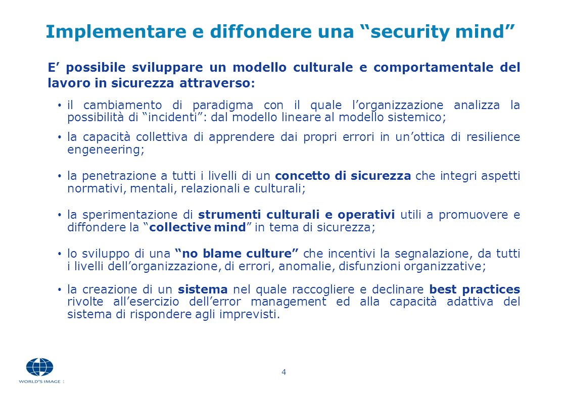 Implementare e diffondere una security mind