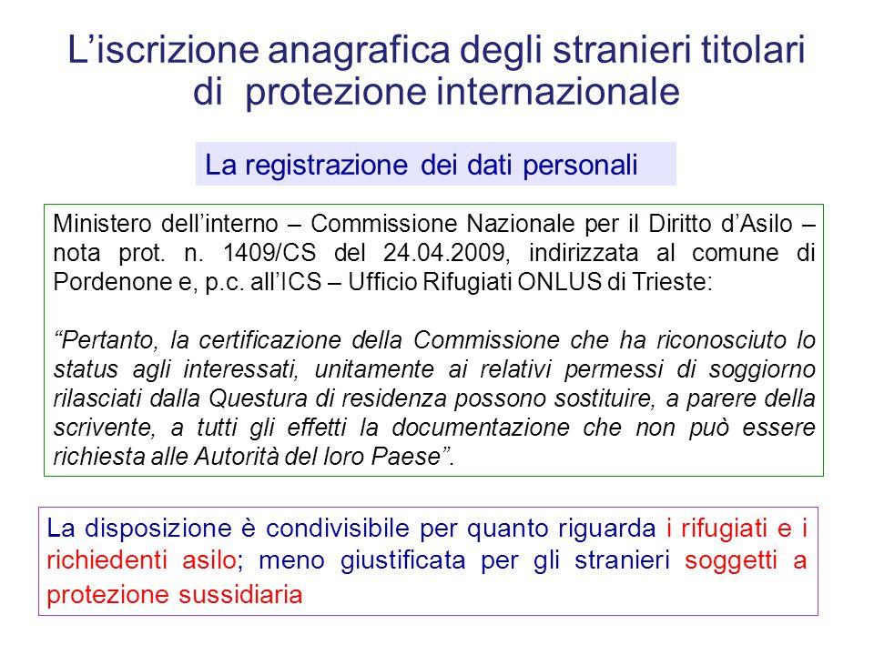 Regolarita Del Soggiorno E Gestione Anagrafica Ppt Scaricare