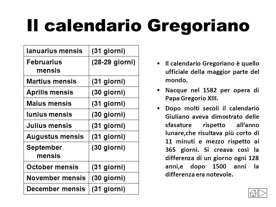 Differenza Tra Calendario Giuliano E Gregoriano.Calendario Giuliano E Gregoriano Calendario 2020
