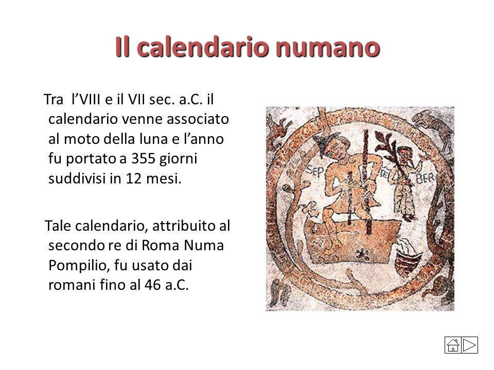 Risultati immagini per calendario di Numa