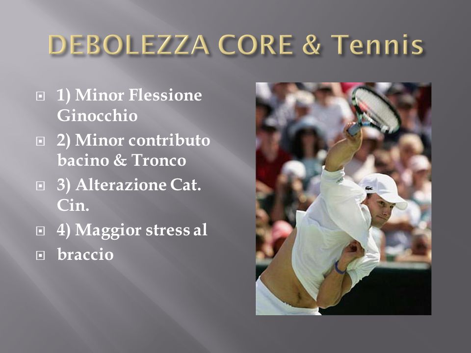 DEBOLEZZA CORE & Tennis