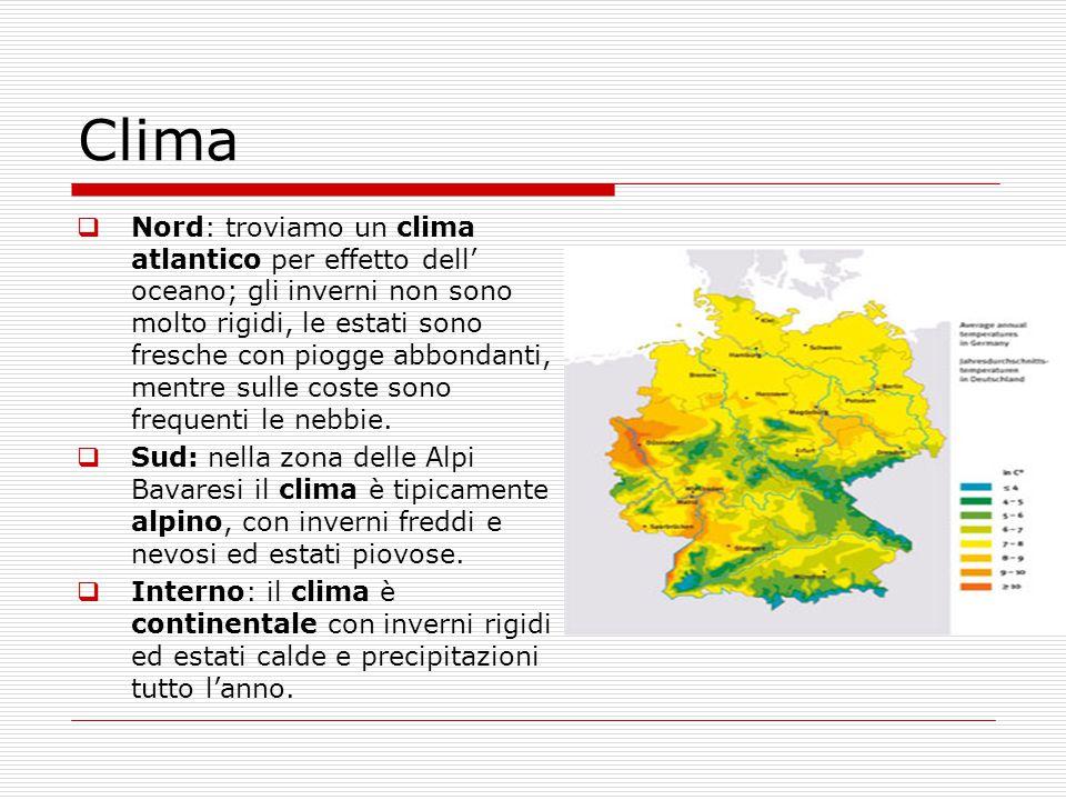 Germania Cartina Fiumi.2 D Germania Fisica Fiumi Laghi E Clima Lessons Blendspace
