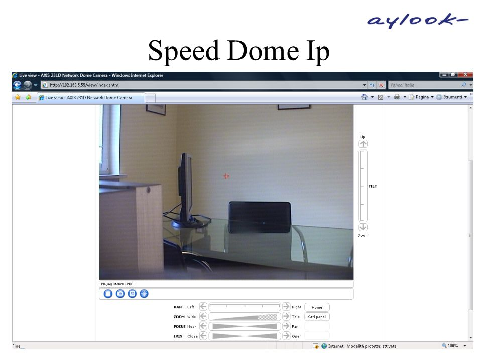 Speed Dome Ip