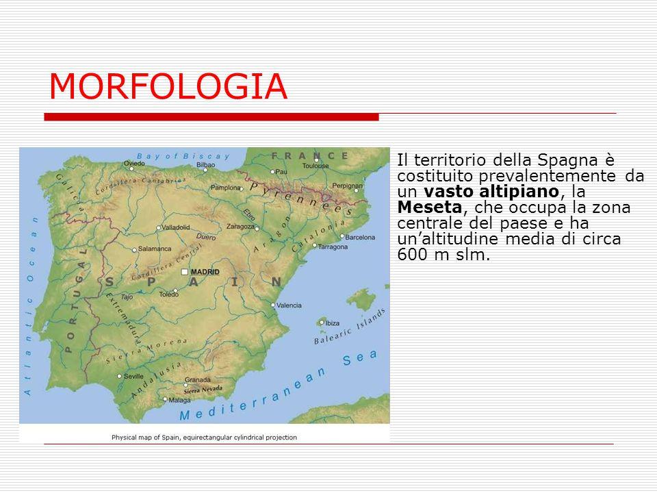 Cartina Della Spagna Geografica.La Spagna Ppt Scaricare