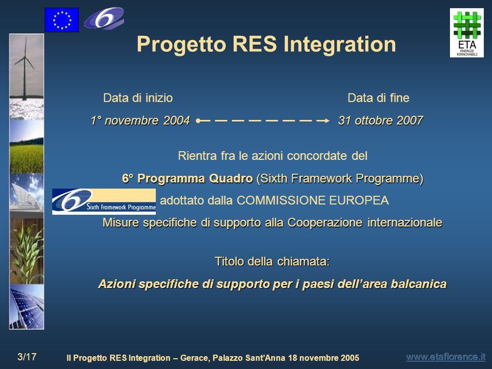 Progetto RES Integration