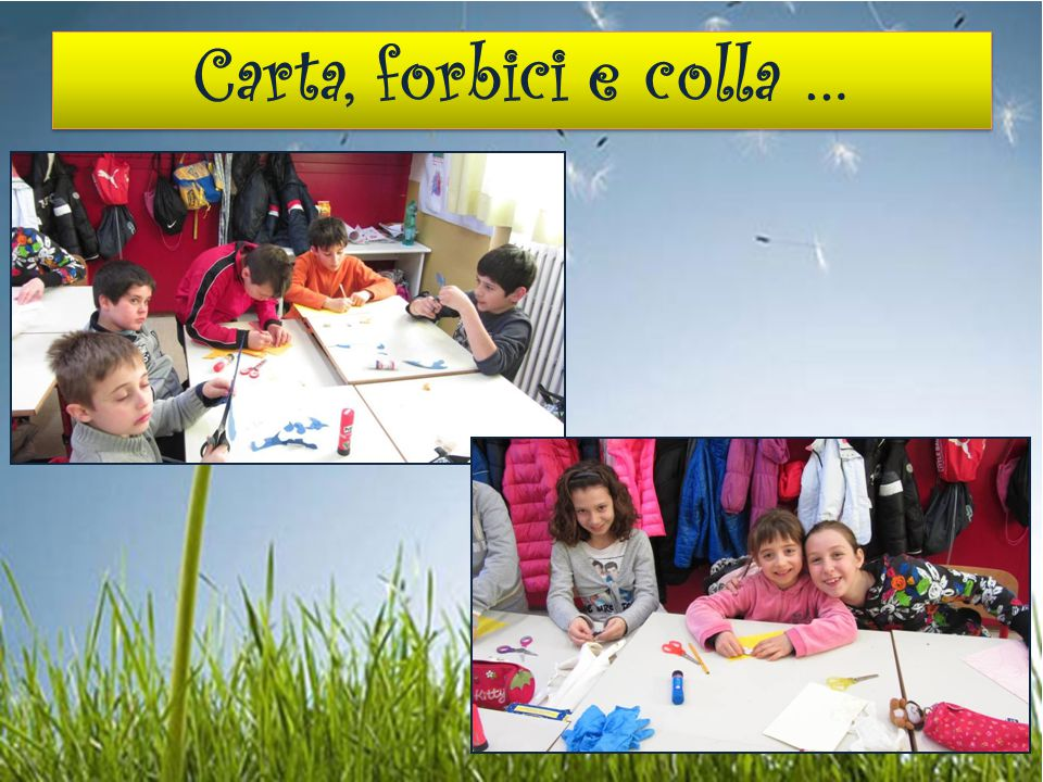 Carta, forbici e colla …