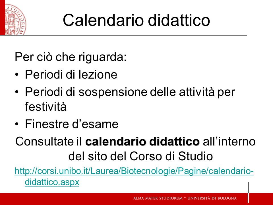 Unibo Calendario.Calendario Accademico Unibo Calendario 2020