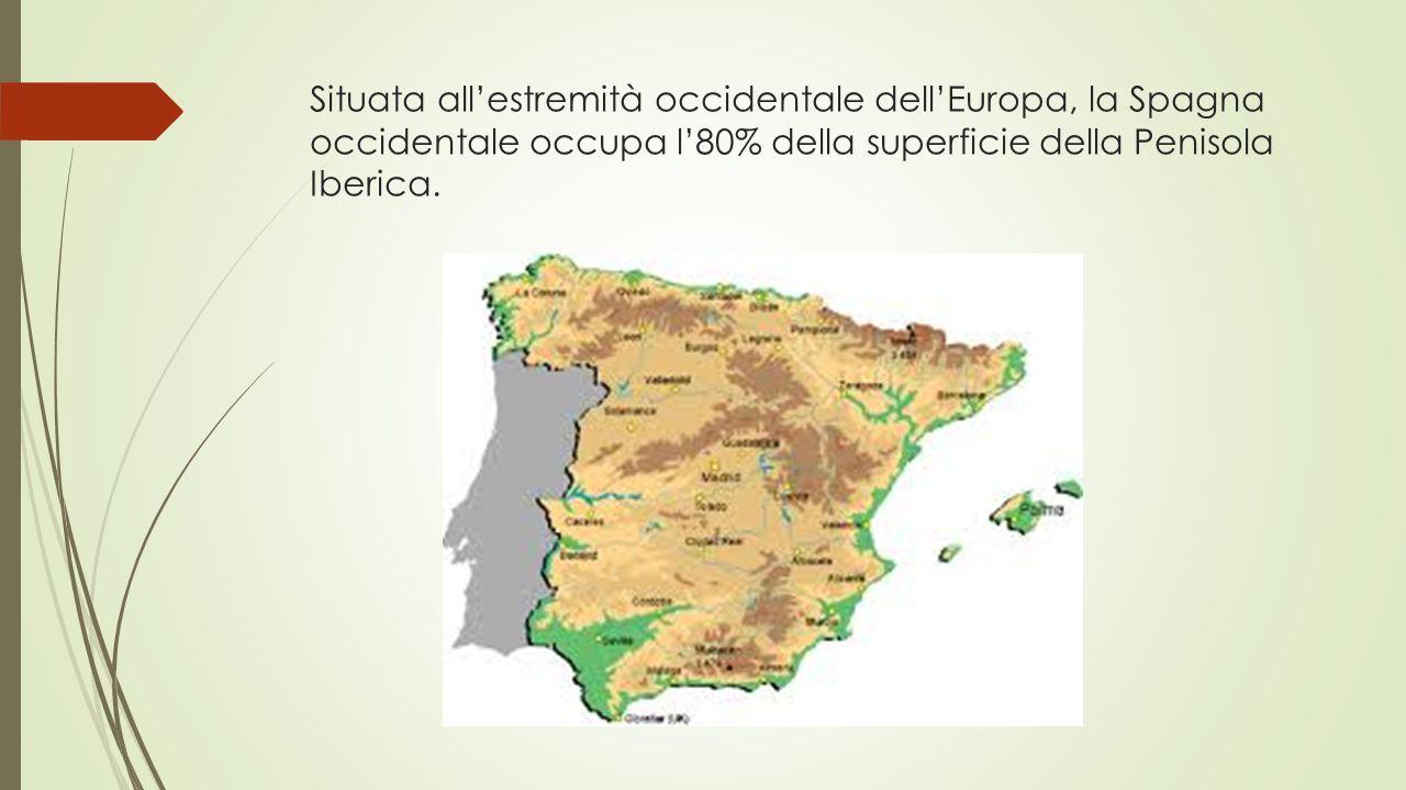 Cartina Tematica Spagna.Presentazione Penisola Iberica Ppt Video Online Scaricare