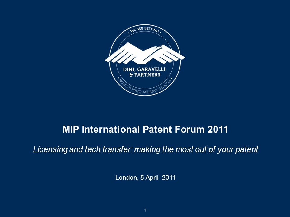 MIP International Patent Forum 2011