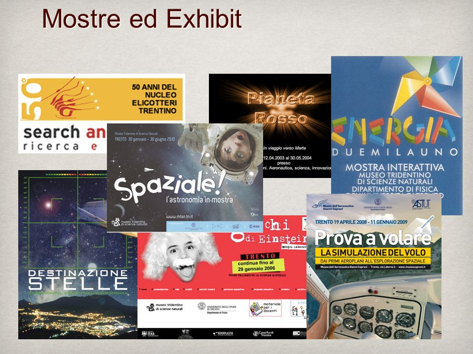 Mostre ed Exhibit