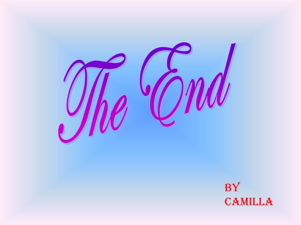 The End By Camilla