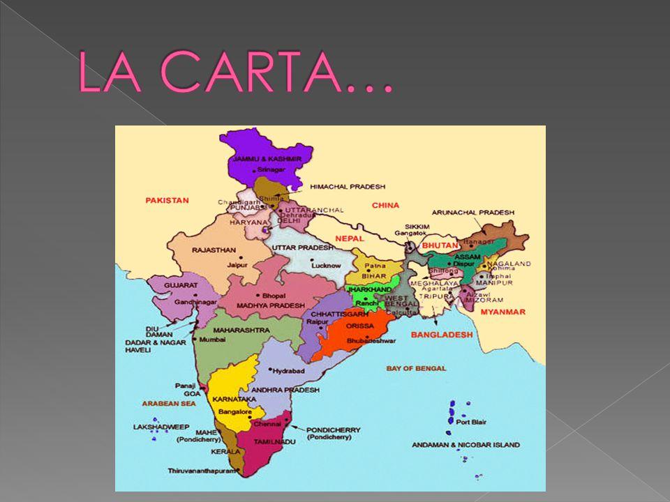 India Politica Cartina.L India Ppt Scaricare