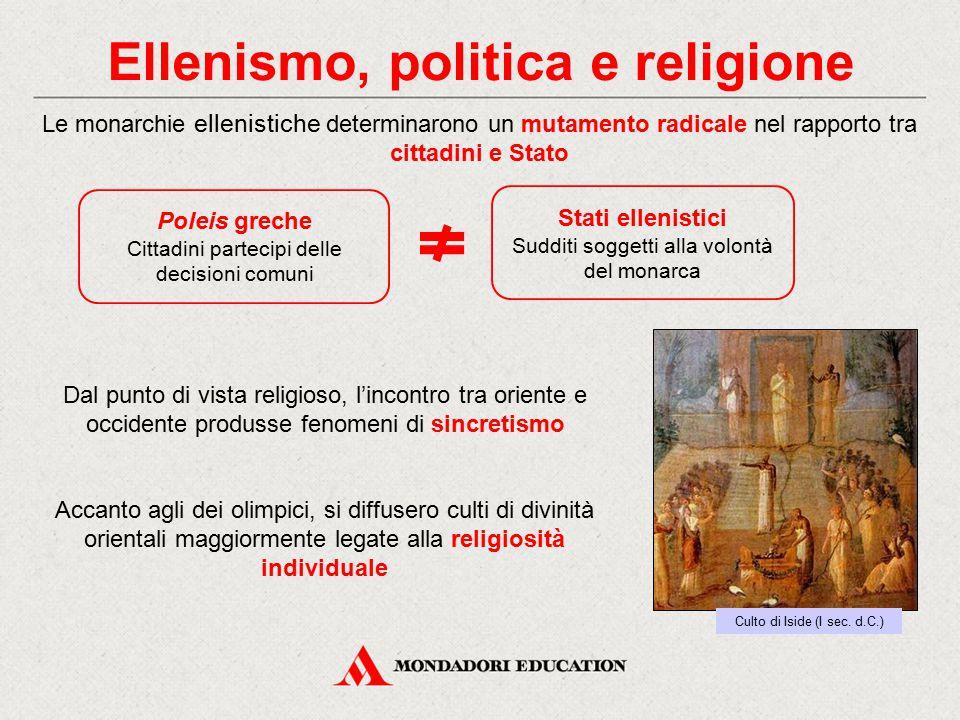 Risultati immagini per ELLENISMO E RELIGIONE