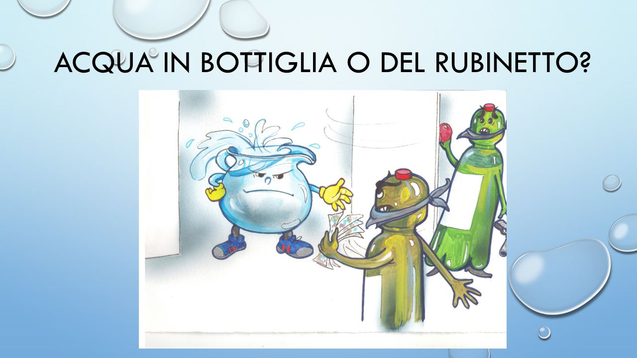 Risultati immagini per acqua bottiglia rubinetto
