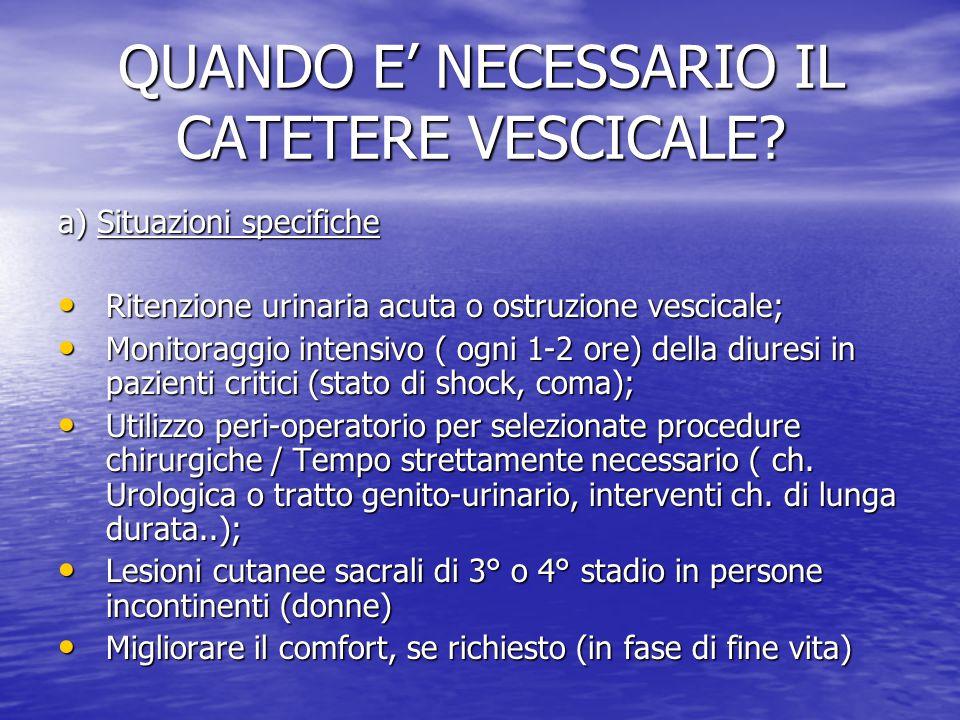 La Gestione Del Catetere Vescicale Ppt Video Online Scaricare