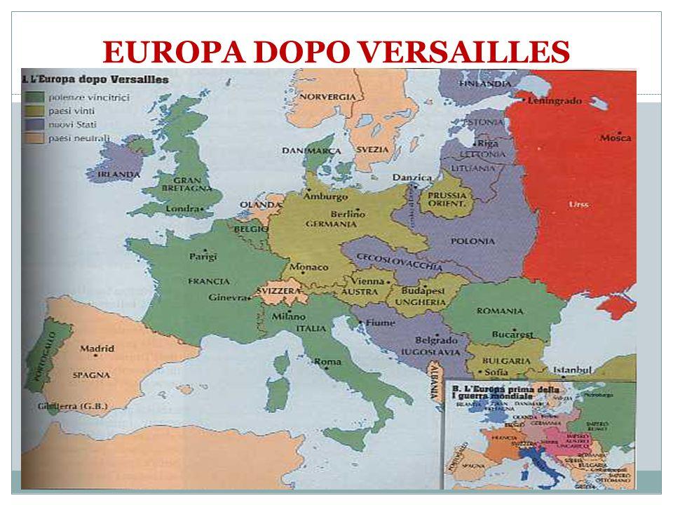 Cartina Europa 1938.Dalla I Guerra Mondiale Alla Guerra Fredda Ppt Scaricare