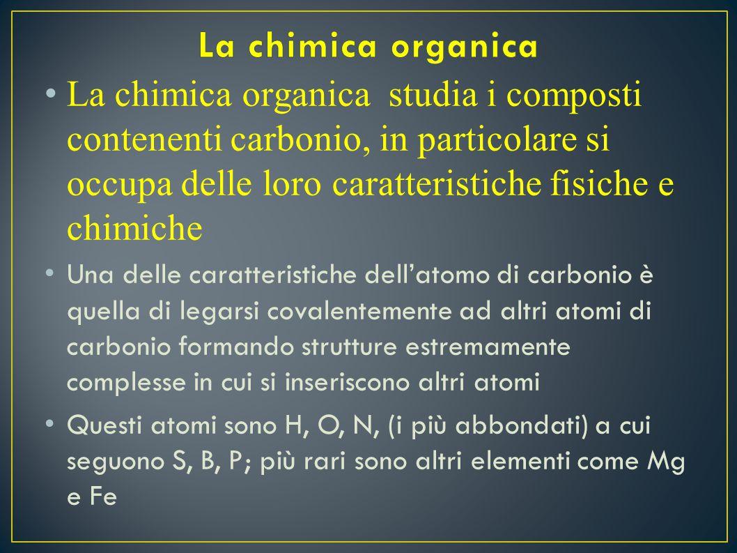 Carbonio che risale una fisica di livello