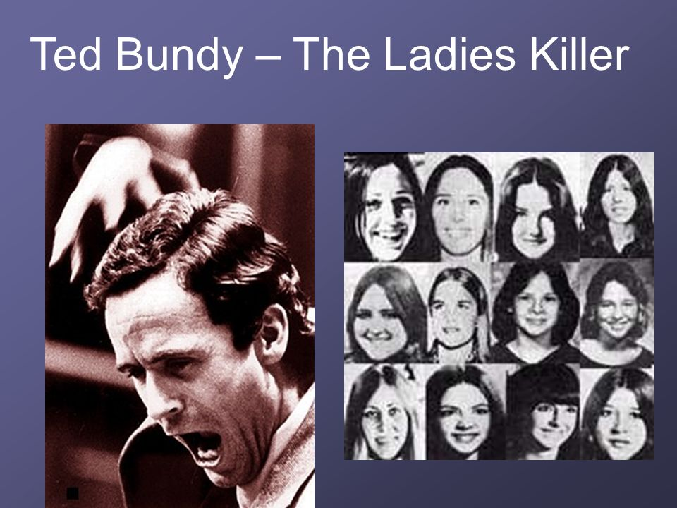 Ted Bundy – The Ladies Killer