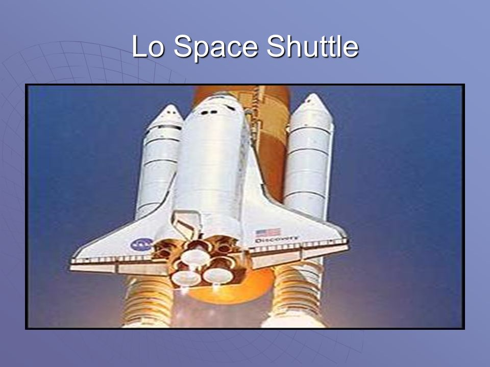 Lo Space Shuttle