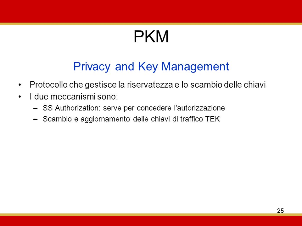Privacy and Key Management
