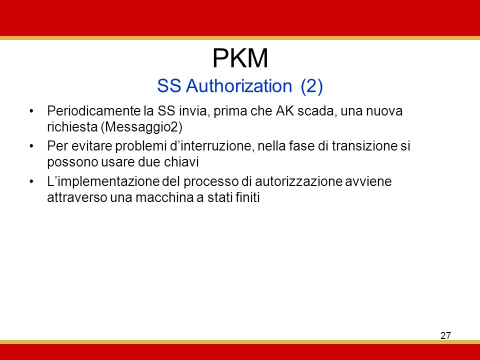 PKM SS Authorization (2)