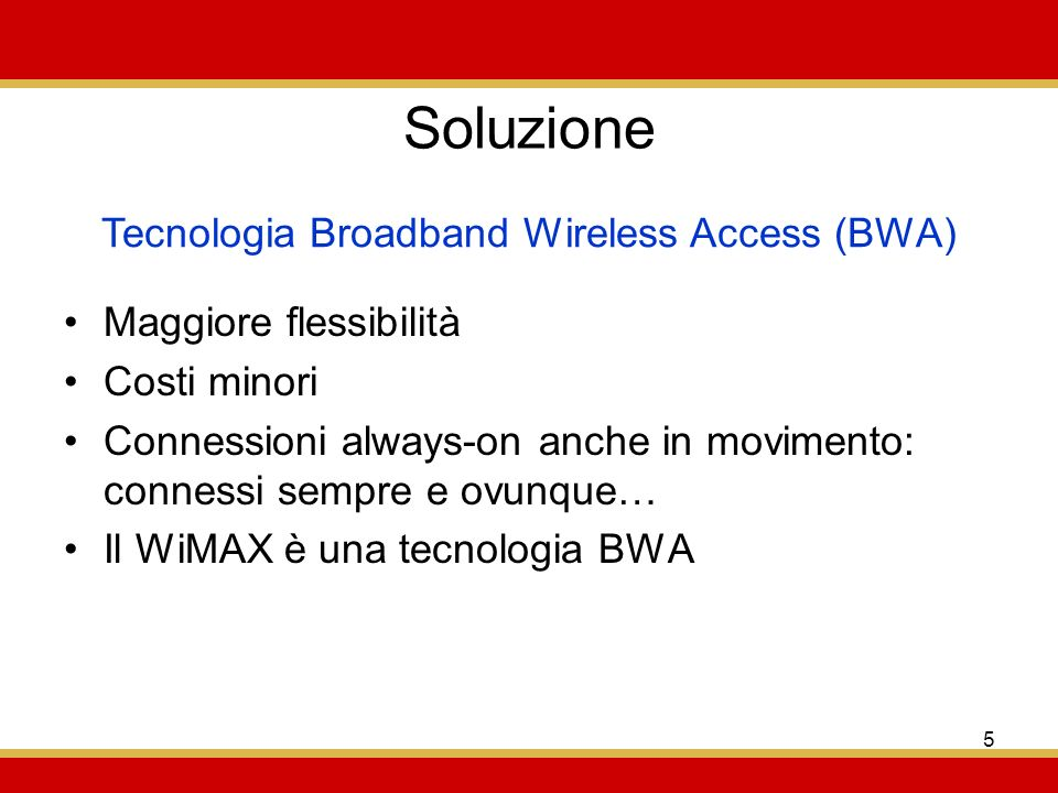 Tecnologia Broadband Wireless Access (BWA)