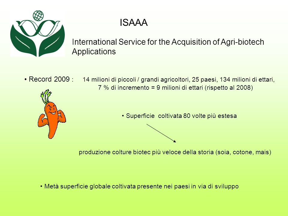 ISAAA International Service for the Acquisition of Agri-biotech