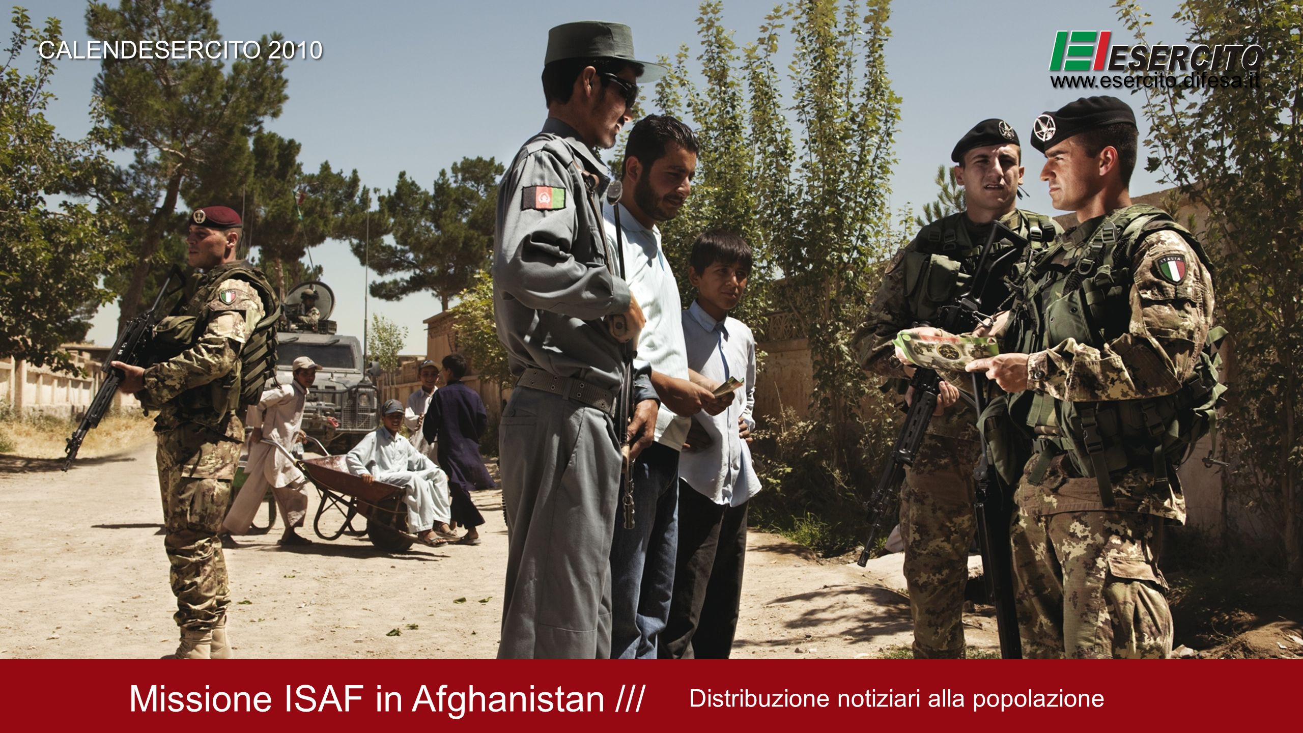 Missione ISAF in Afghanistan ///