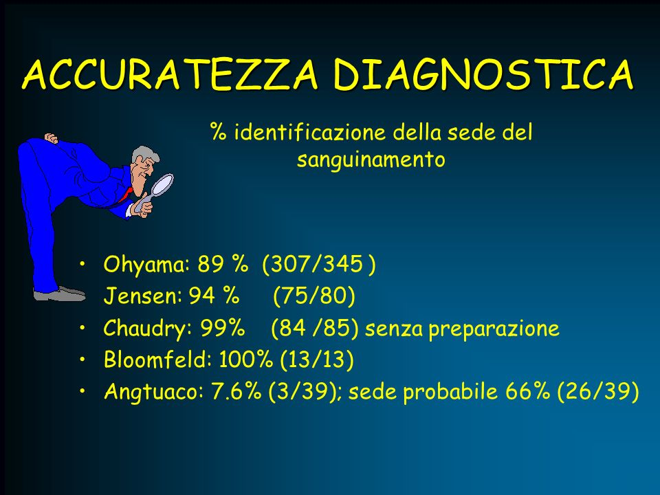 ACCURATEZZA DIAGNOSTICA