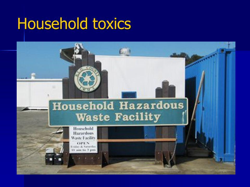 Household toxics