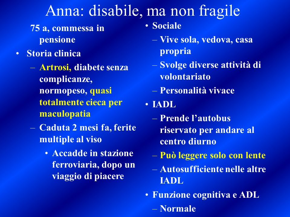 Anna: disabile, ma non fragile