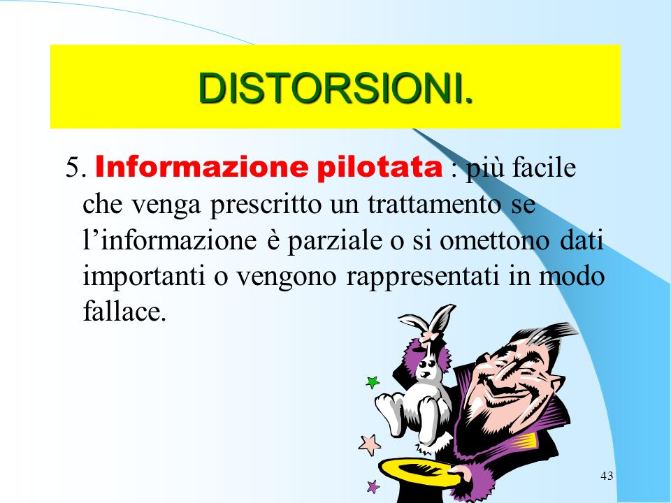 DISTORSIONI.