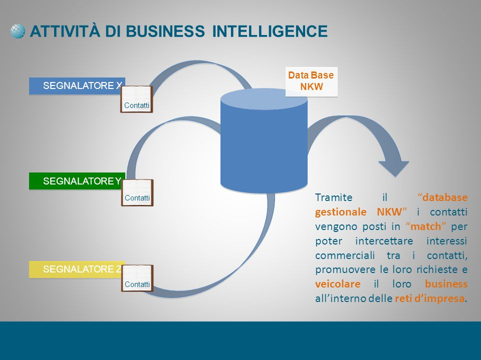 ATTIVITÀ DI BUSINESS INTELLIGENCE