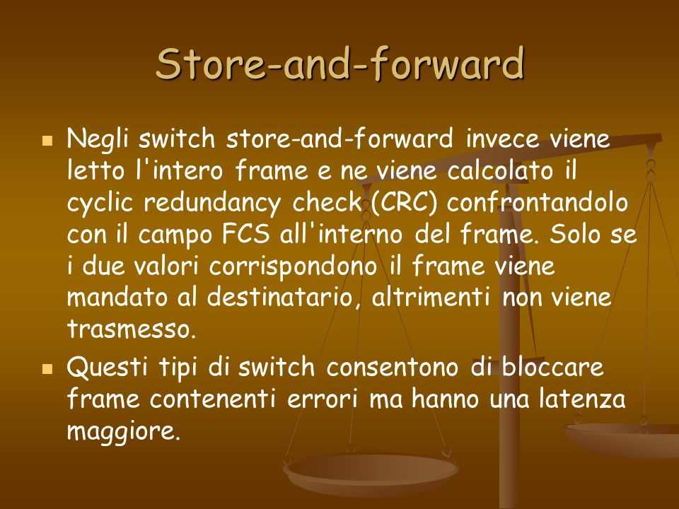 Store-and-forward