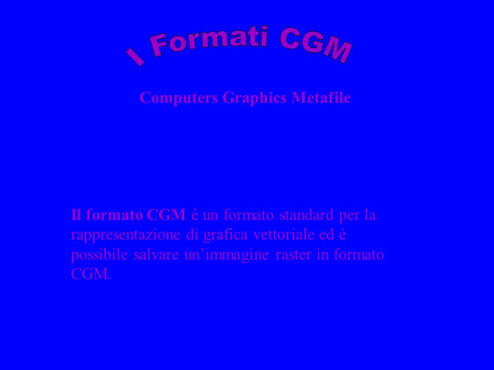 Computers Graphics Metafile