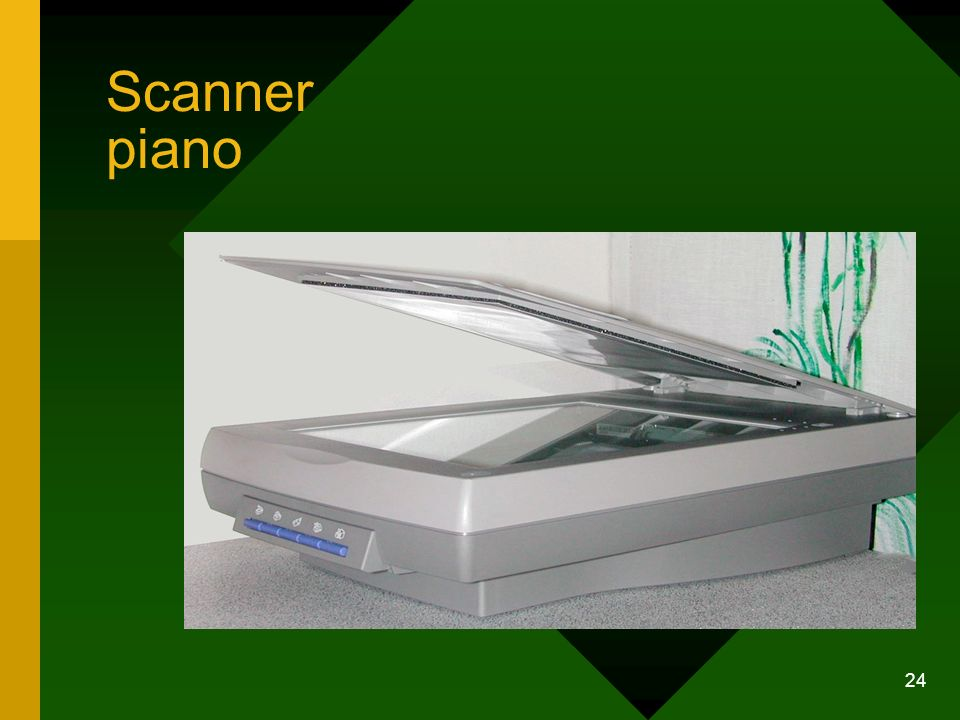Scanner piano