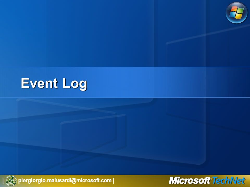 3/27/2017 2:26 AM Event Log. © 2005 Microsoft Corporation. All rights reserved.