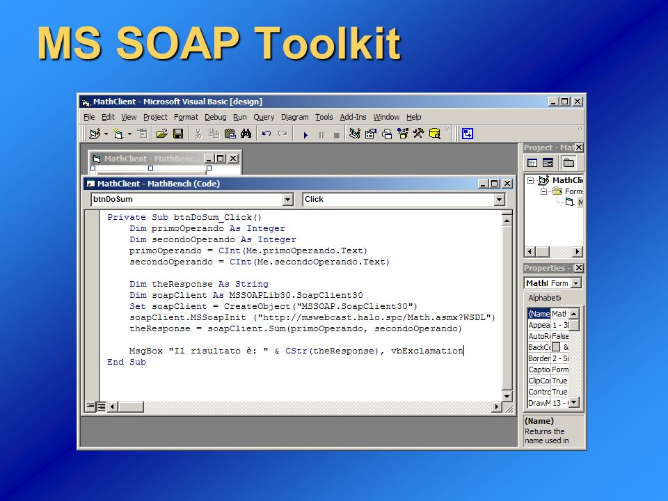 MS SOAP Toolkit
