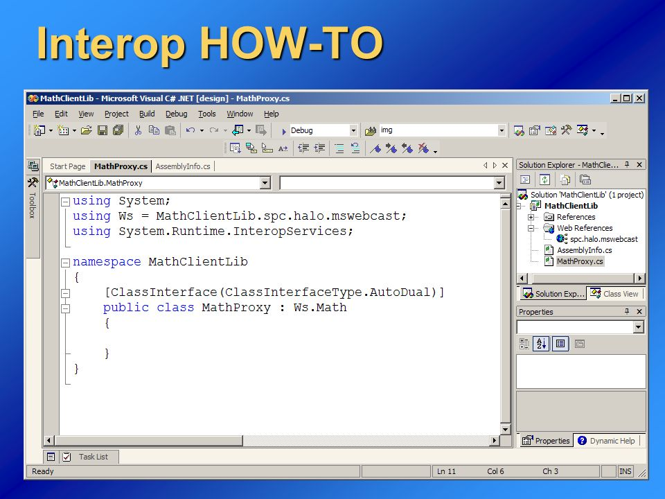 Interop HOW-TO