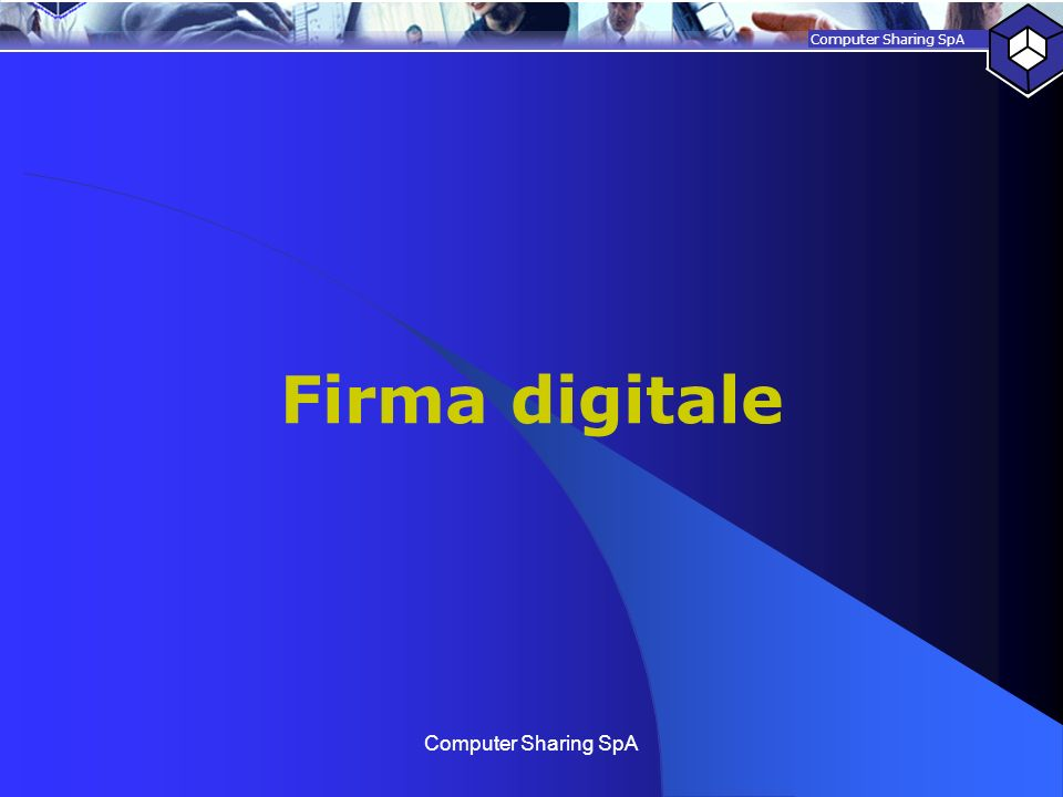 Firma digitale Computer Sharing SpA