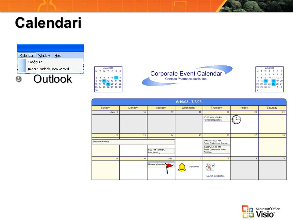 Calendari Outlook