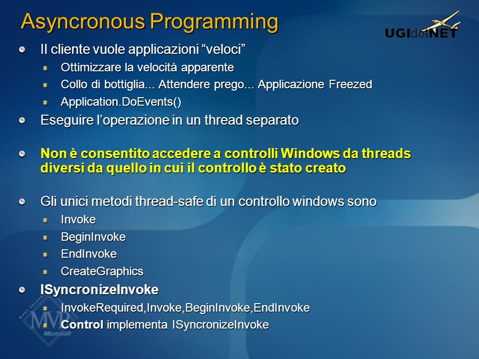 Asyncronous Programming