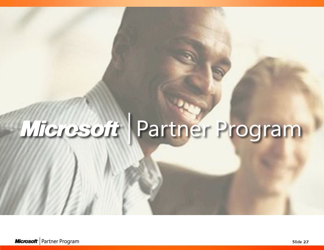 Microsoft Partner Program 2006 Launch Training – Train the Trainer