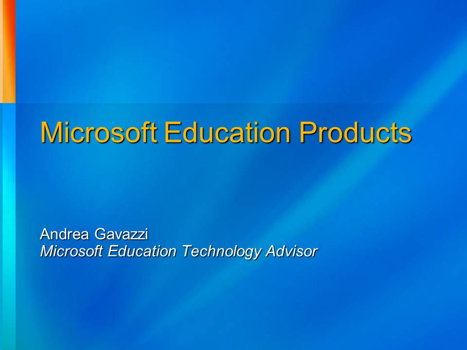 Microsoft Education Products
