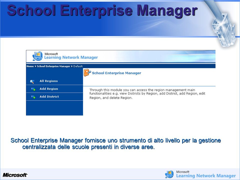 School Enterprise Manager