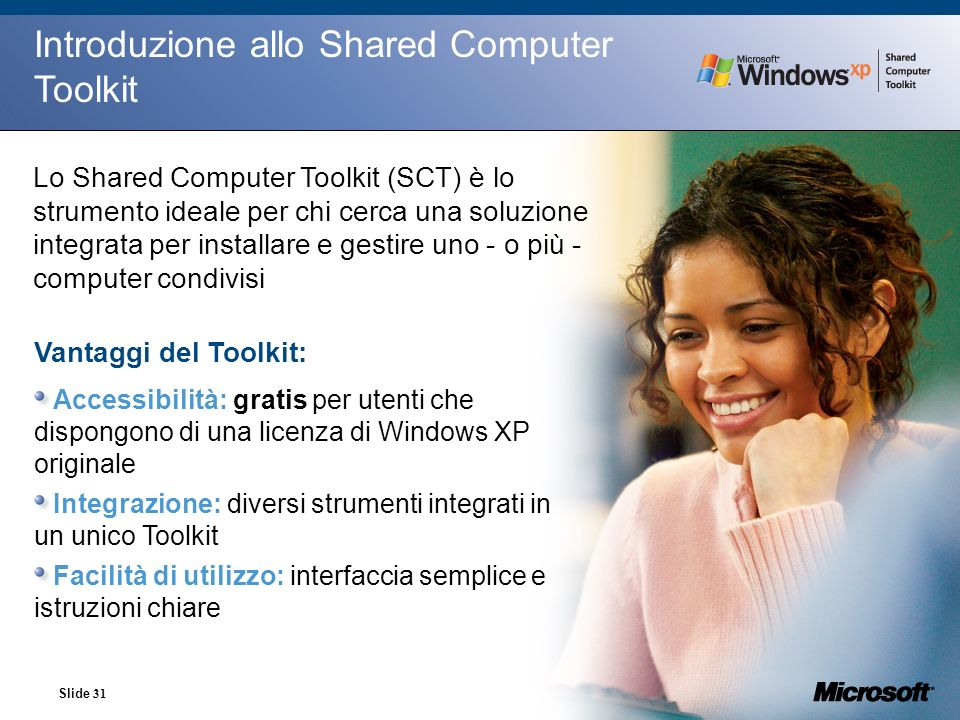 Introduzione allo Shared Computer Toolkit