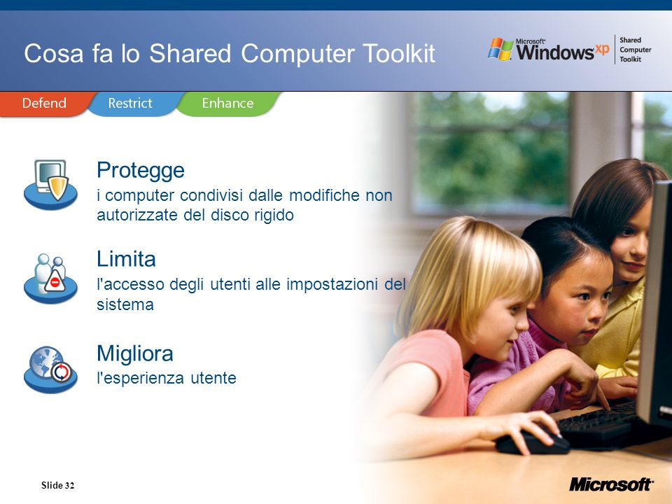 Cosa fa lo Shared Computer Toolkit